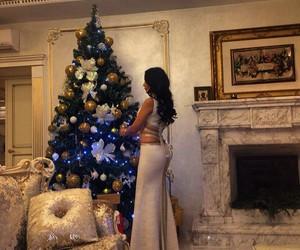 girl, christmas, and luxury image
