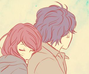 anime, love, and ao haru ride image