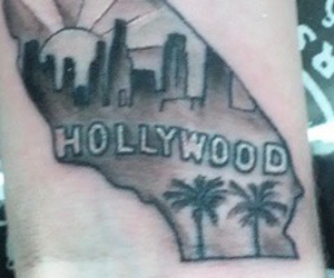 beautiful, ink, and los angeles image