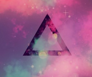 hipster, triangle, and wallpaper image