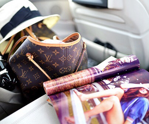 fashion, magazine, and Louis Vuitton image