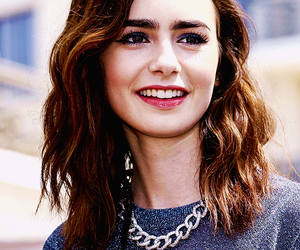 hair and lily collins image