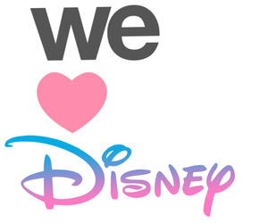 disney, heart, and we image