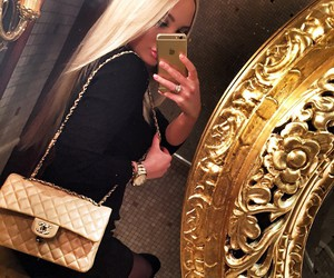 chanel and blonde image
