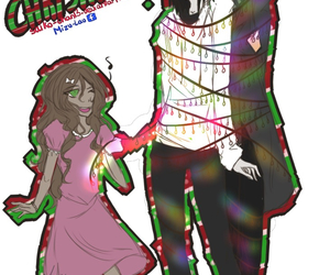 christmas, sally, and creepypasta image
