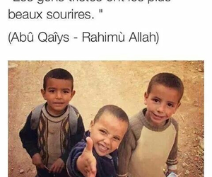 smile, children, and islam image