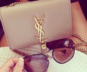fashion, YSL, and sunglasses image