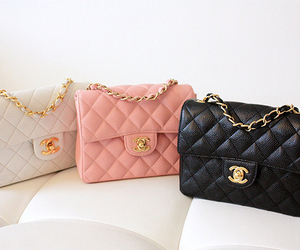 chanel, bag, and pink image