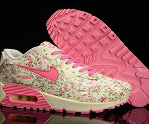 shoes, pink, and nike image