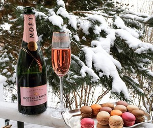 french, moet, and luxury image