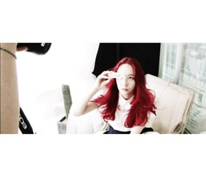 f(x), red hair, and krystal image
