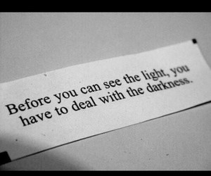 Darkness, light, and deal image