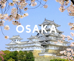 japan, osaka, and japanese image