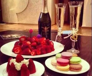 alcool, chantilly, and champagne image