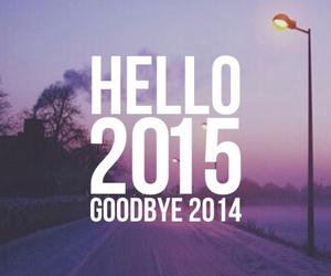 2015, hello, and 2014 image