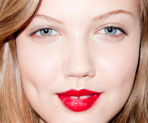 girl, red lips, and terry richardson image