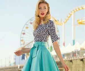 fashion, vintage, and skirt image
