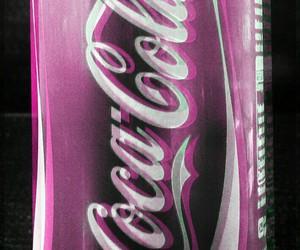coca cola, pink, and cola image