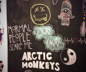 nirvana, arctic monkeys, and grunge image