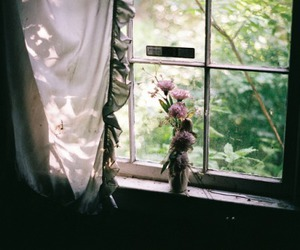 vintage, window, and hipster image