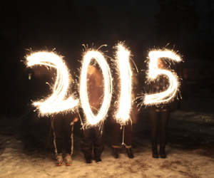finland, light, and new year image