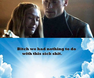game of thrones, a song of ice and fire, and sick shit image