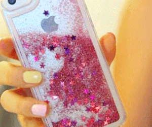 apple, electronic, and glitter image