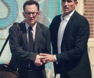 john reese❤️, harold finch❤️, and person of interest❤️ image