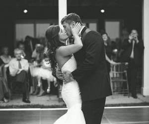 love, couple, and wedding image