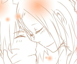 naruto uzumaki, sakura haruno, and narusaku image