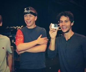 will poulter, thomas sangster, and the maze runner image
