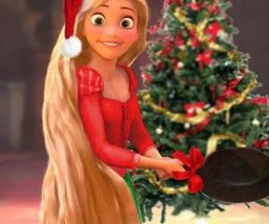 christmas, tangled, and rapunzel image