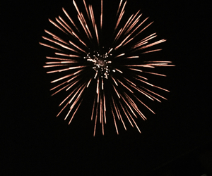 firework, happy, and lights image
