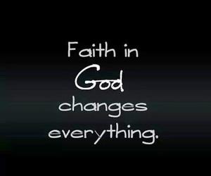 faith, god, and change image
