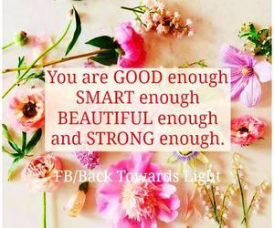 good enough, strong enough, and smart enough image