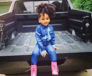 kid, hairstyle dope, and ragga desc child image