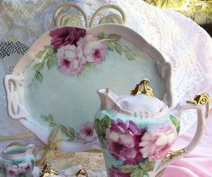 porcelain and tea party image