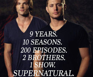 brothers, supernatural, and winchester image