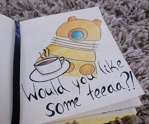 drawing and tea image
