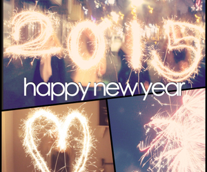 fireworks, happy, and happy new year image