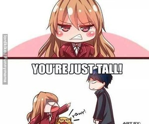 anime, toradora, and short image