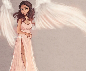 selena gomez, angel, and drawing image