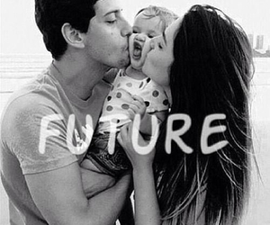 future, love, and baby image