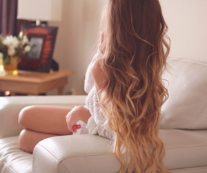 beauty, curled, and tumblr image