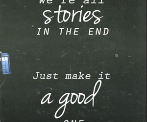 quote, story, and doctor who image