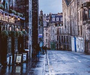 edinburgh, city, and scotland image