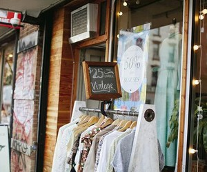 shop and vintage image