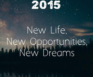 2015 and Dream image