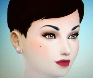 1940, lipstick, and pixie image