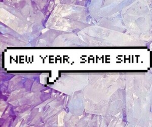 new year, shit, and 2016 image